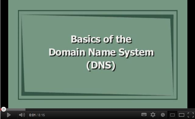 Basics of the Domain Name System (DNS)