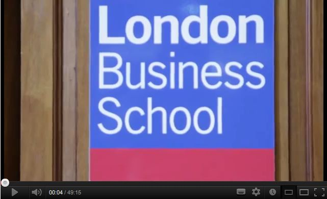 London Business School Africa Day 2012 – 'Africa Taking Ownership: Successes & Challenges'.