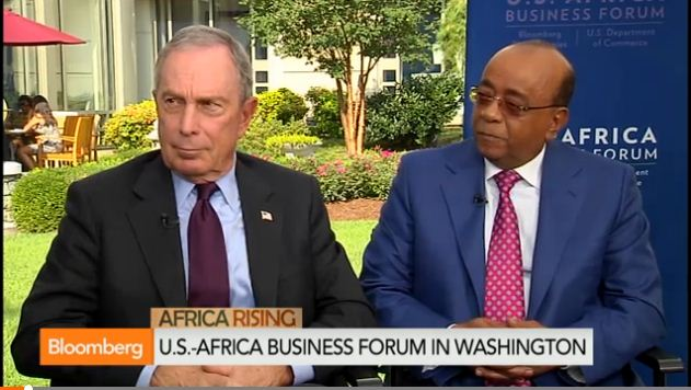 Bloomberg, Ibrahim on U.S. Investment in Africa