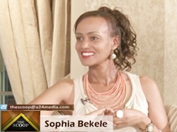 THE SCOOP with Salim Amin: In Conversation with Sophia Bekele Eshete