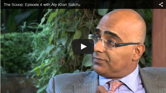THE SCOOP with Salim Amin: In Conversation with Aly Khan Satchu
