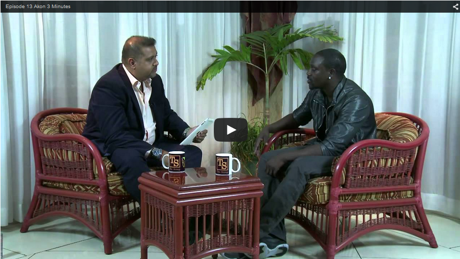 THE SCOOP with Salim Amin: In Conversation with Akon