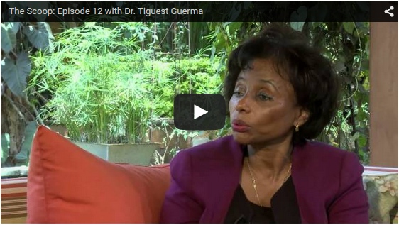 THE SCOOP with Salim Amin: In Conversation with Director General of AMREF, Dr. Teguest Guerma