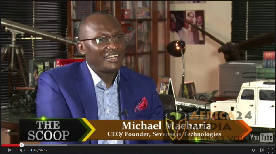 THE SCOOP Episode 35 with Salim Amin: In Conversation with with Mike Macharia