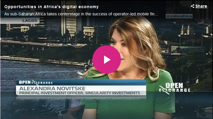 CNBC Africa: Opportunities in Africa's digital economy