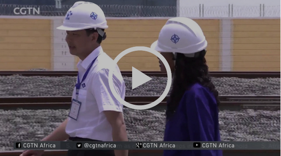 Women train drivers trained in China to operate SGR