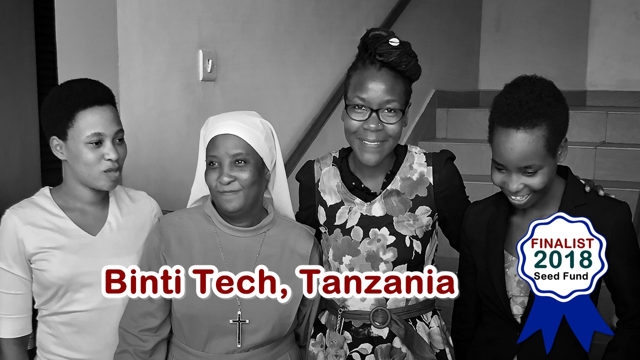 Binti Tech, Finalist in the 2018 Miss.Africa Seed Fund
