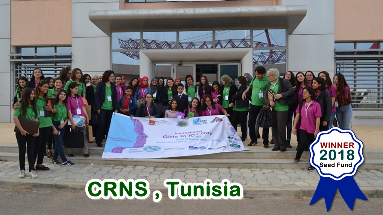 CRNS Tunisia, Winner in the 2018 Miss.Africa Seed Fund