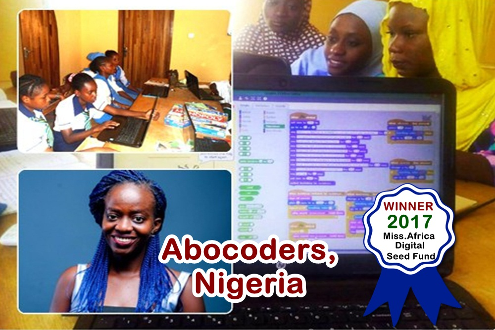 Abocoders Nigeria Grand Prize Winner, 2017 Miss.Africa Seed Fund