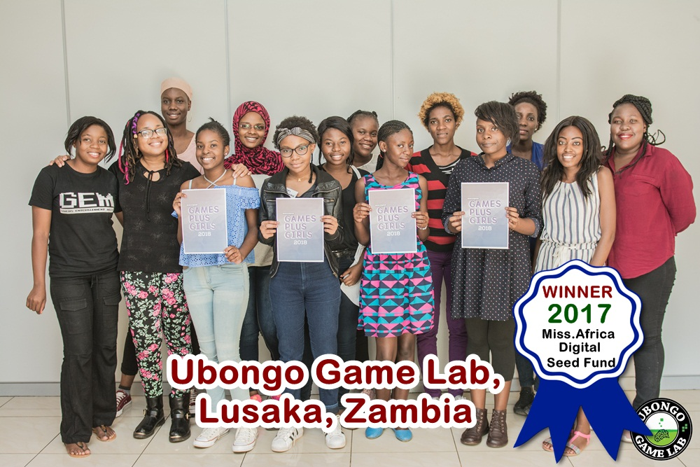 Ubongo Game Lab Zambia, Winner in the 2017 Miss.Africa Seed Fund