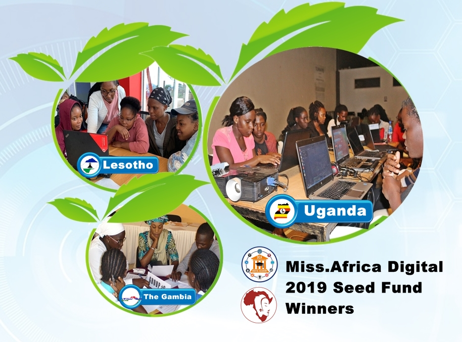 2019 Miss.Africa Digital Seed Fund Winners