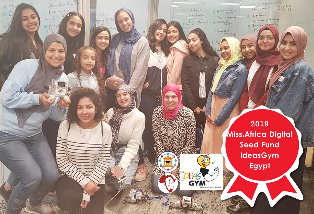 Ideas Gym Egypt – Finalist in the 2019 Miss.Africa Digital Seed Fund