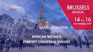 Crans Montana African Women's Forum in Brussels 2019 Review