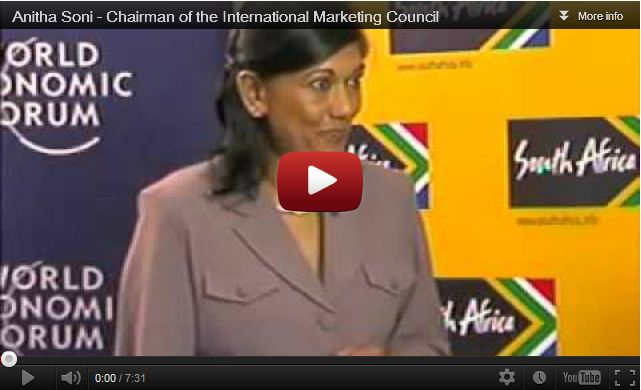 Anitha Soni – Chairman of the International Marketing Council
