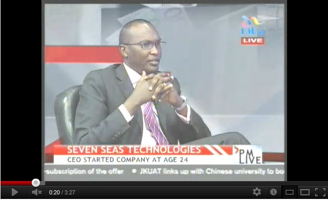 Michael Macharia NTV PM Live