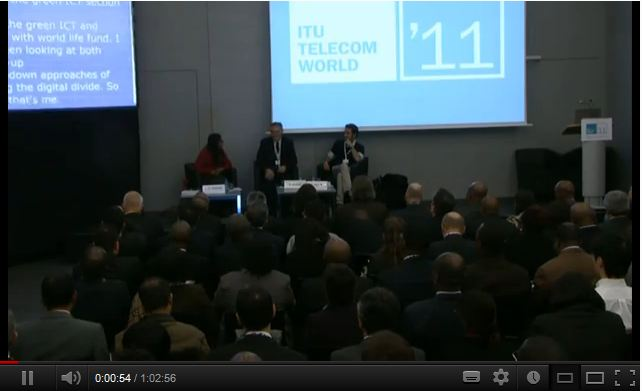 "ITU Telecom World 2011 — Main Forum: Digital Villages: Rethinking ""Digital Divide"""