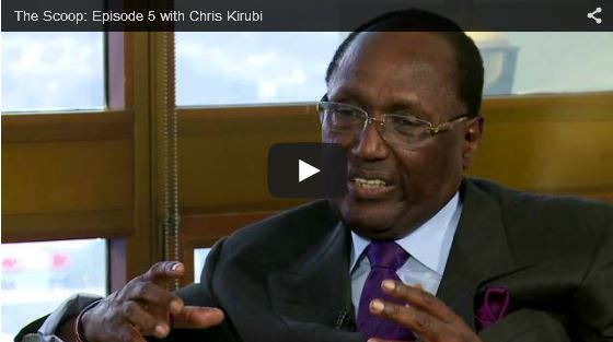 THE SCOOP with Salim Amin: In Conversation with Dr. Chris Kirubi