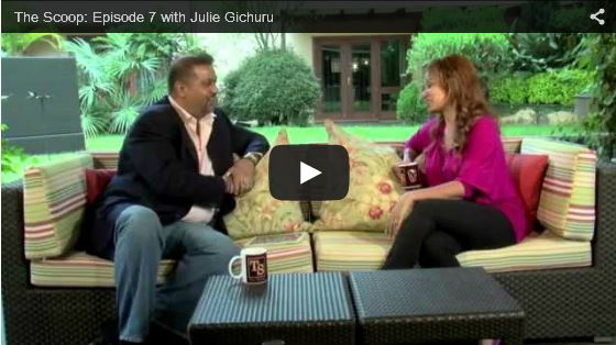 THE SCOOP with Salim Amin: In Conversation with Julie Gichuru