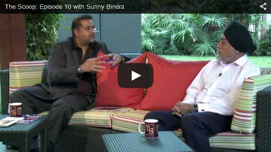 THE SCOOP with Salim Amin: In Conversation with Sunny Bindra