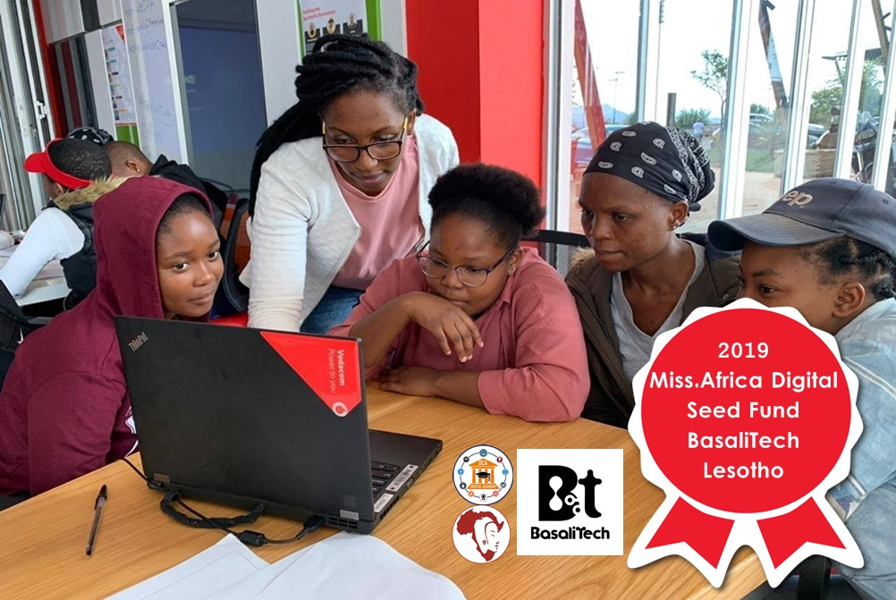 BasaliTech, Lesotho- Winner in the 2019 Miss.Africa Seed Fund