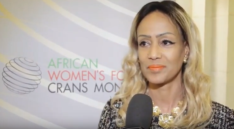 Interview Sophia Bekele Crans Montana African Women's Forum Brussels 2019